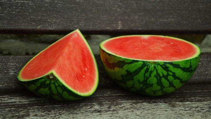 Schwarze Wassermelone