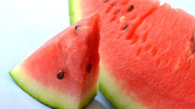 Schwarze melonen Freucht