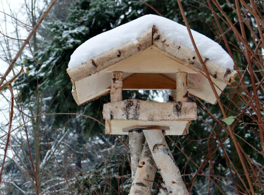 vogelhaus selber bauen – anleitung » gartenrevue.de
