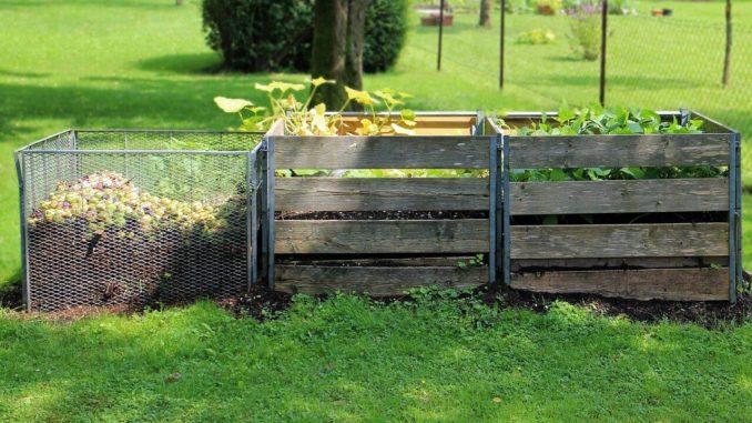 kompost im garten bevor kompost entfernt wird