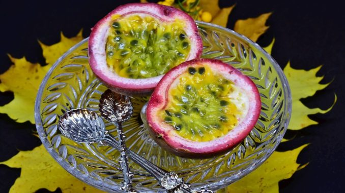 Frucht der Passionsblume auch Maracuja genannt