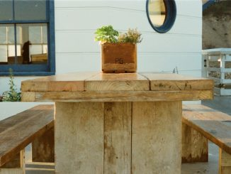 Gartentisch selbst bauen