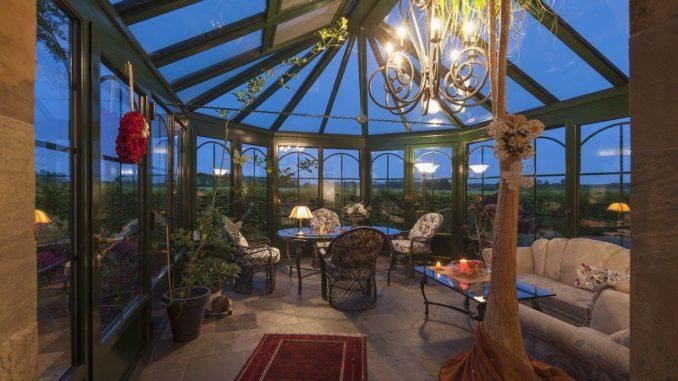 Wintergarten mit Baugenehmigung errichtet